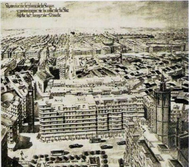 Estas eran las 5 avenidas que finalmente no se construyeron en València