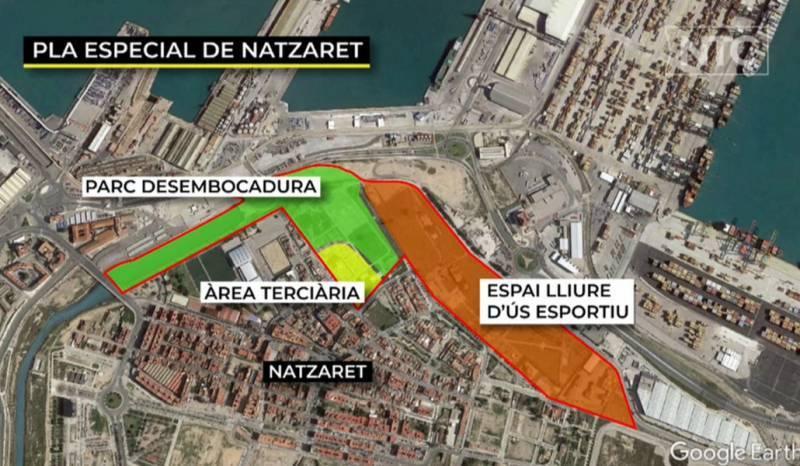 Conoce el nuevo parque que tendrá Valencia al lado del Puerto