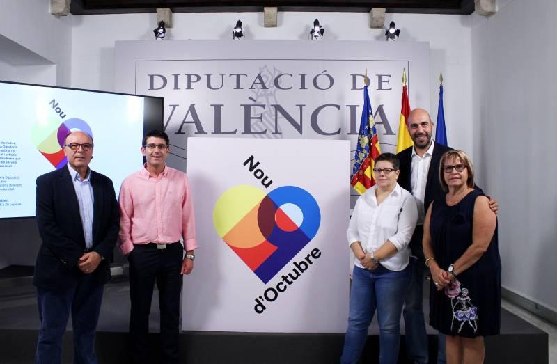 Jorge Rodríguez invita a los valencianos a visitar y conocer la Diputación con motivo del 9 d?Octubre