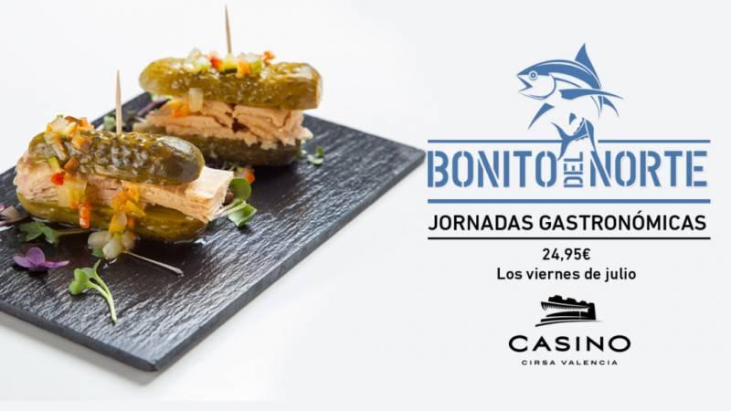 Jornadas gastronómicas julio Casino Cirsa Valencia