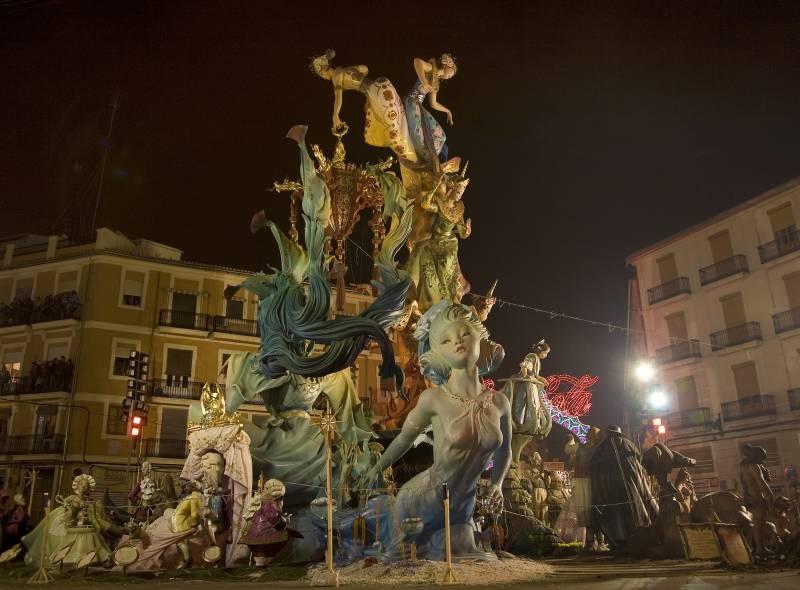 Falla en Getafe (Madrid) - Foto: Turespaña