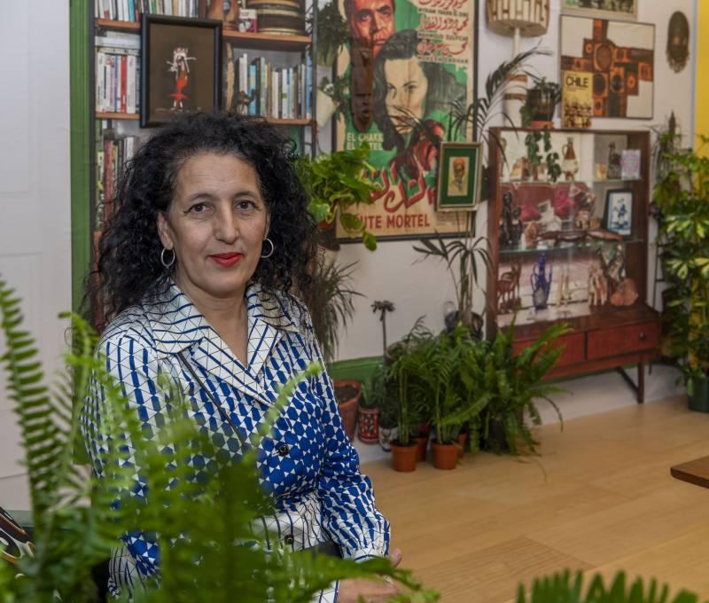 Zineb Sedira en la exposición del IVAM