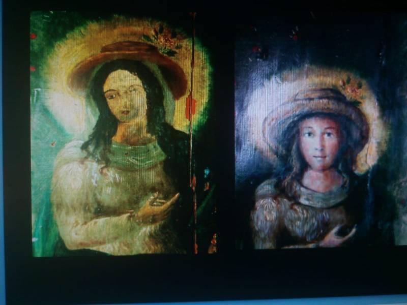 La Universitat de Valencia entrega a Potries la obra restaurada de la Divina Pastora