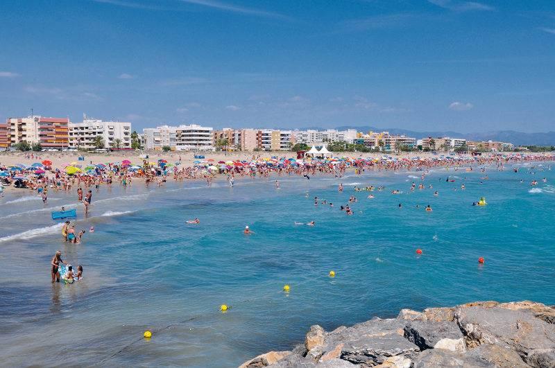 Imagen de la playa Racó de Mar, una de las mejores de la provincia de Valencia. FOTO CANETDENBERENGUER.ES