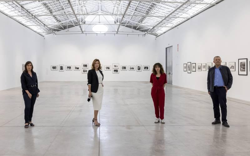 Sandra Guimaraes, Julia Castelló, Susana Lloret y Vicent Todolí. EPDA