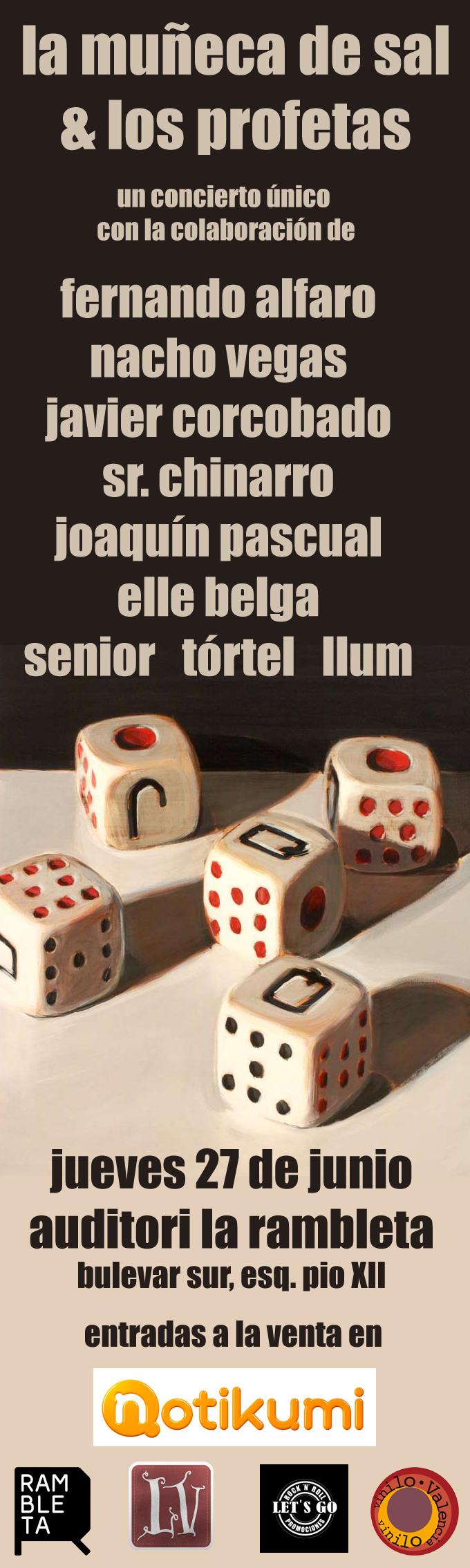 Cartel del concierto (Viu València)