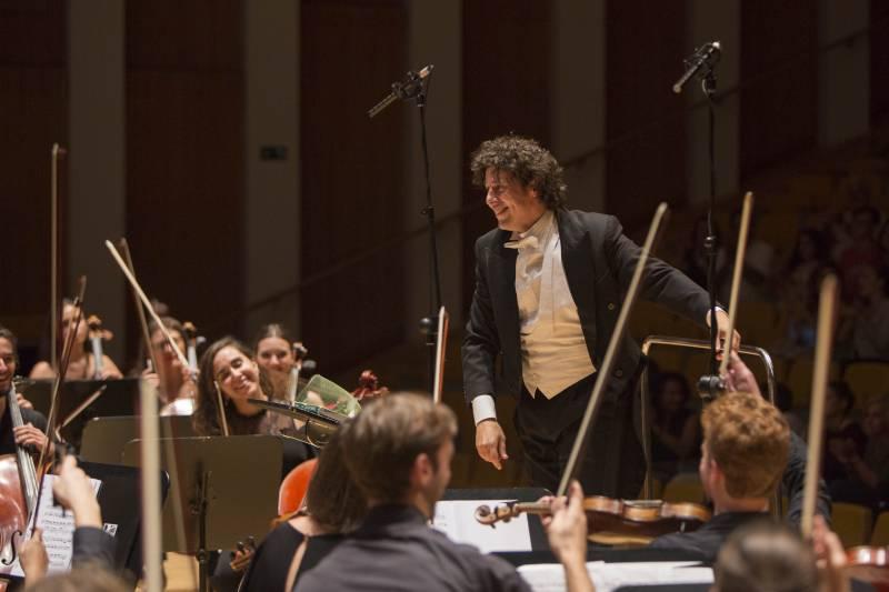 Cristóbal Soler y Joven Orquesta Sinfónica FSMCV