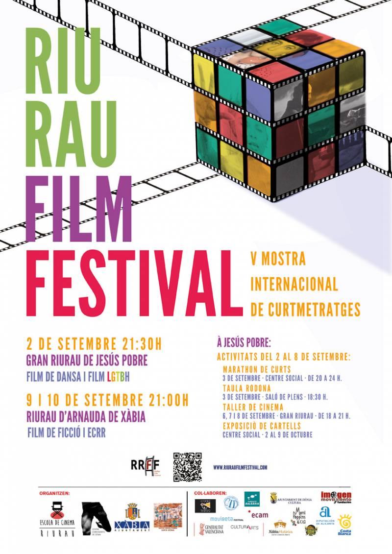 Cartel del RIURAU Film Festival 2016
