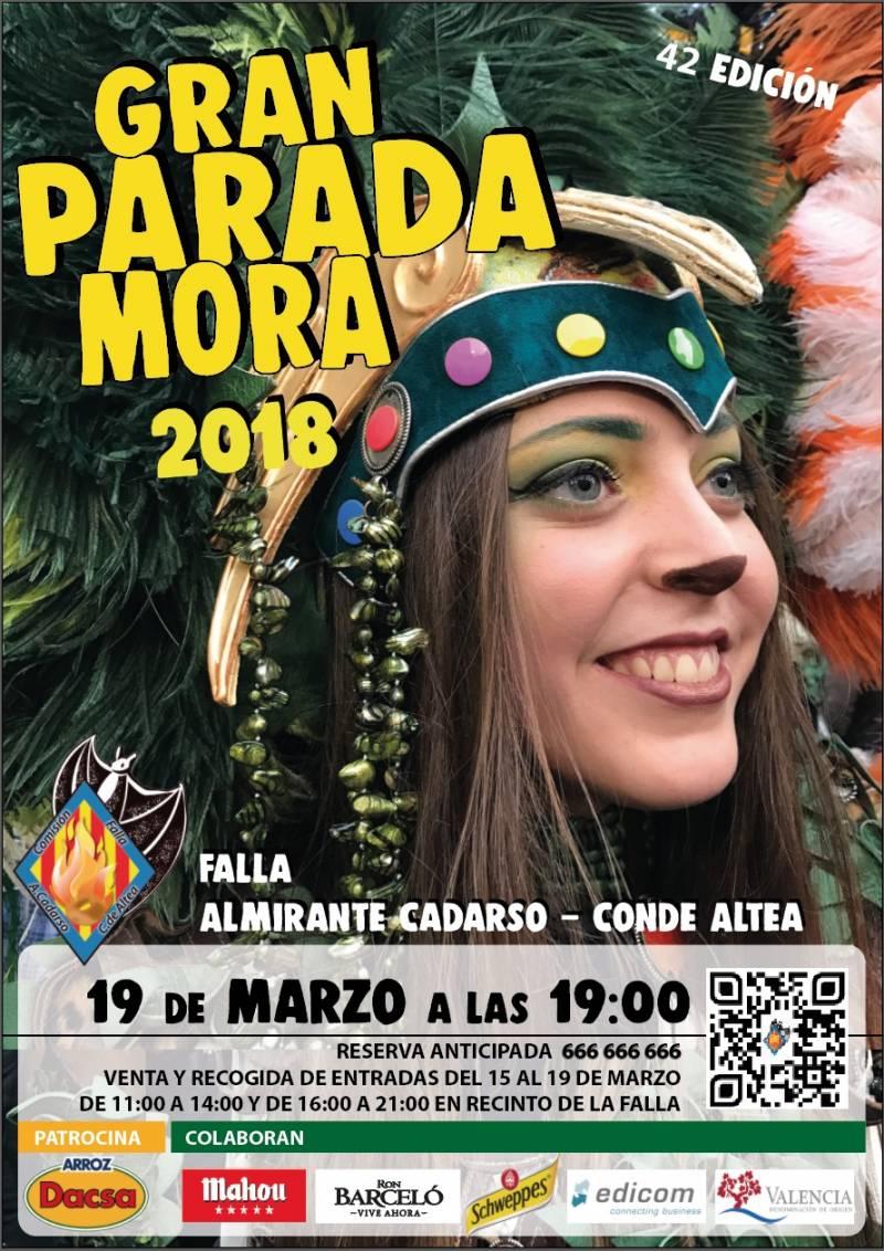 42ª Edición de la Parada Mora en la Falla Almirant Cadarso ? Comte D