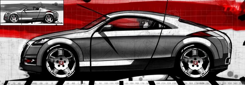 Diseño del Audi TT