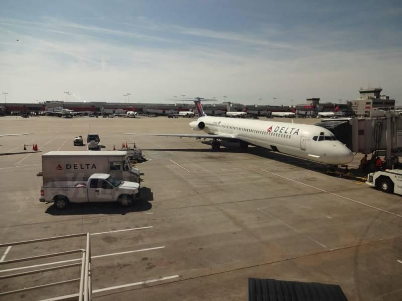 Atlanta aircraft Delta Airlines USA