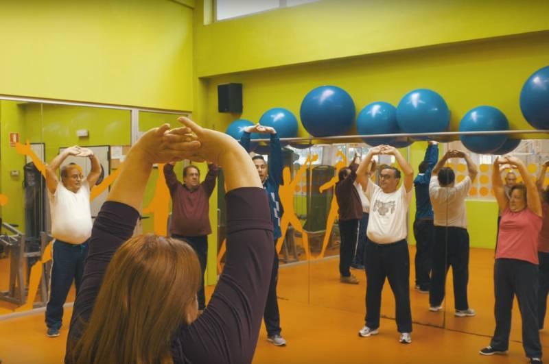 Programa de Salud y deporte del Ayuntamiento de València.