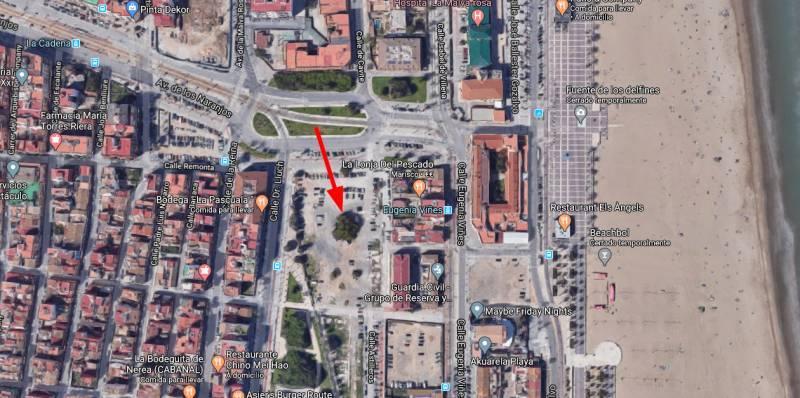 Localizació del ficus. EPDA