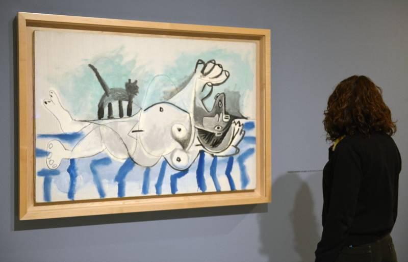Exposición Picasso. La alegría de vivir