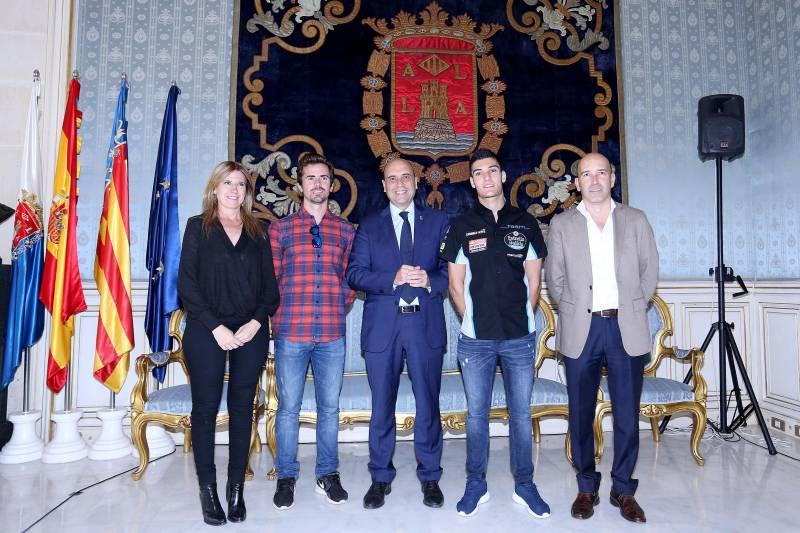 EVa Montesinos Nico Terol Gabreil Echavarri Jorge Navarro y Gonzalo Gobert
