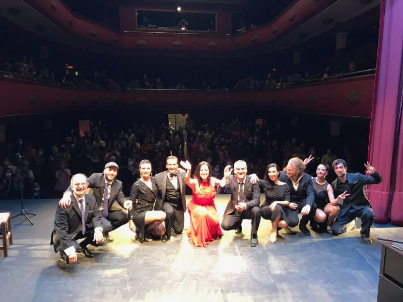 Tango en el teatro Talia./ EPDA
