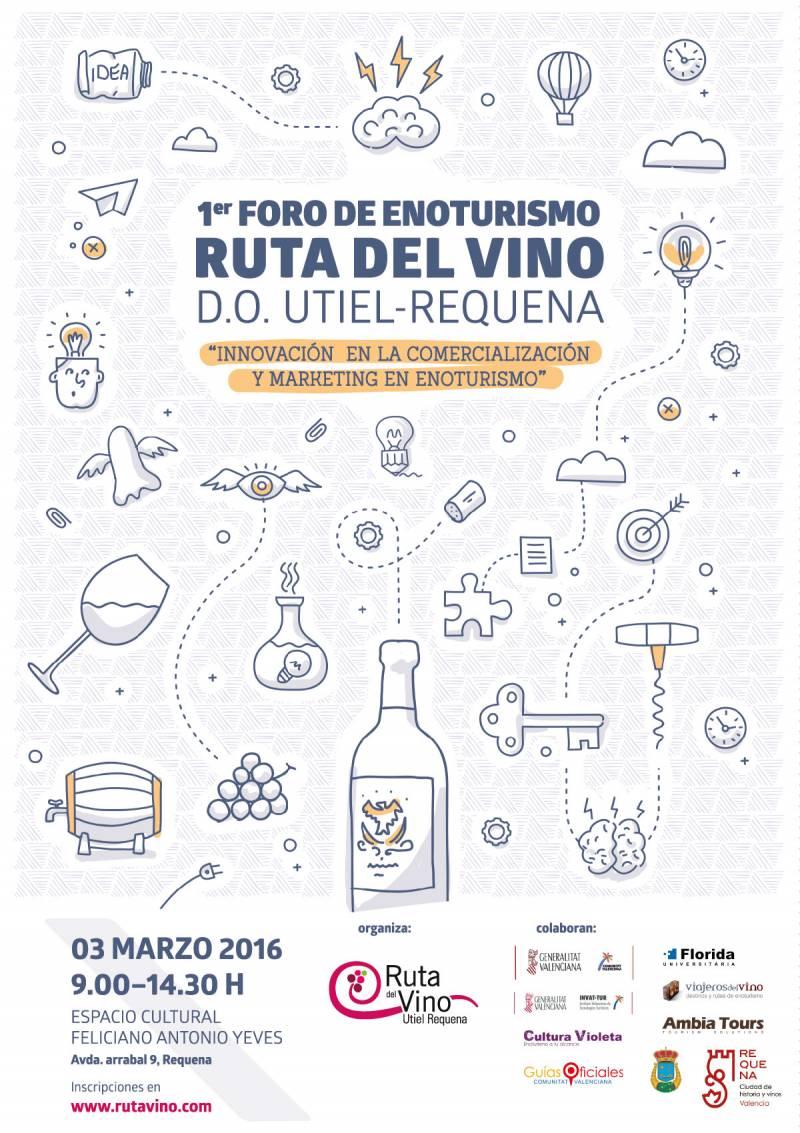 Cartel de este Foro de intercambio de ideas//Viu València