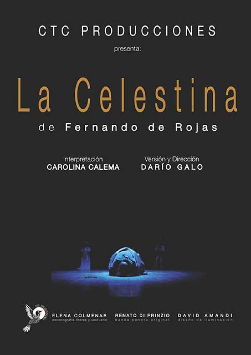 Cartel de La Celestina