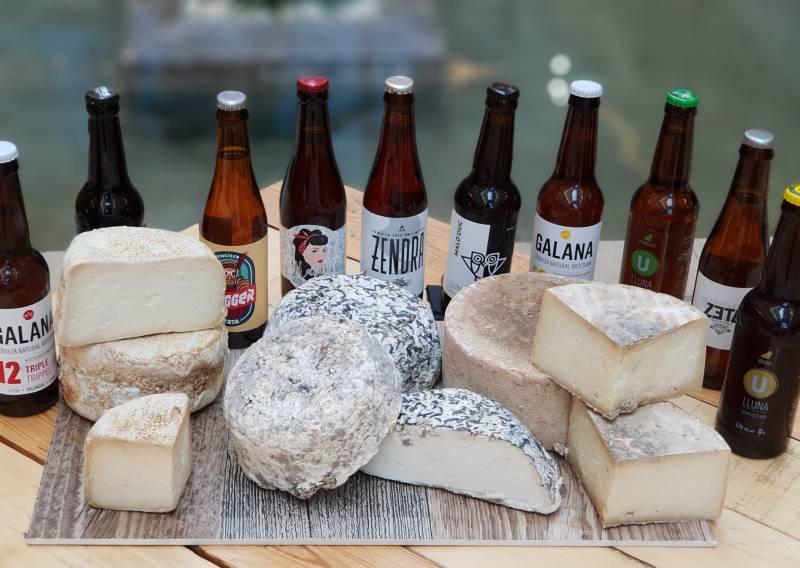 Cervezas artesanas y quesos de autor para celebrar el Día de la Comunidad Valenciana