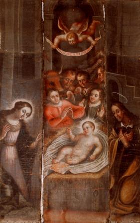 La Luz de las Imágenes restaura una pintura sobre la