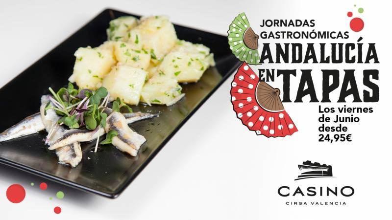 Jornadas gastronómicas de junio en Casino Cirsa Valencia