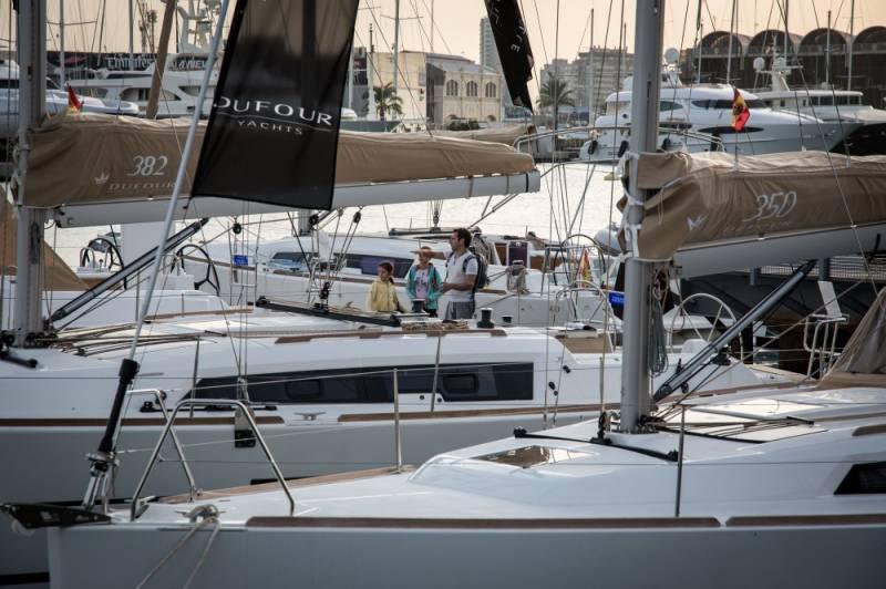 Valencia Boat Show.