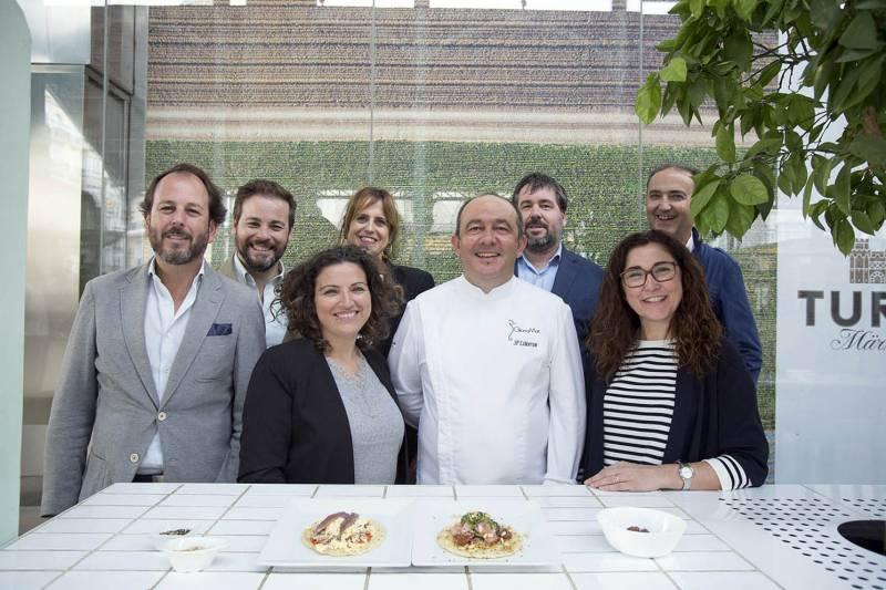 Carlos Marín, Carlos Valero de Turia, Alicia López, Antonio Peinador y Julio Aleixandre, Sara Guntiñas y Jose P Colomar