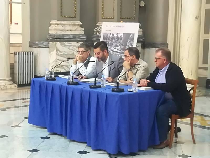 Guillermo Rubert, Mahou San Miguel; Alejandro Platero, chef Restaurante Macel.lum; Juan Pozuelo, asesor gastronómico de la campaña y David Izquierdo, gerente de la FEHV