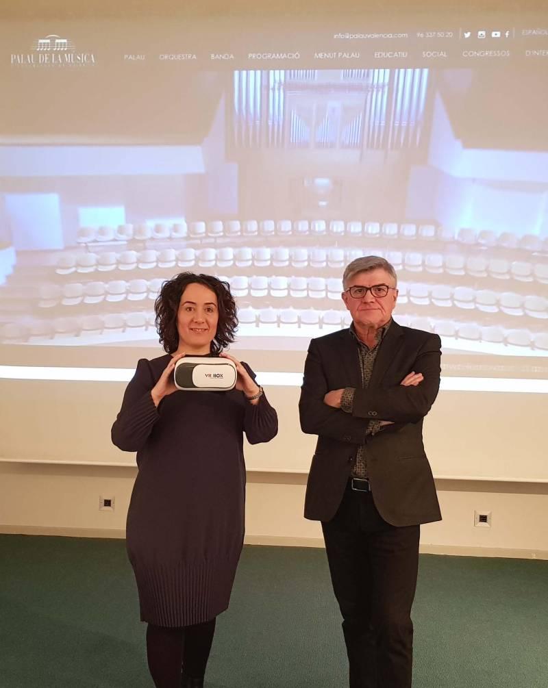 Web i xarxes Palau Música