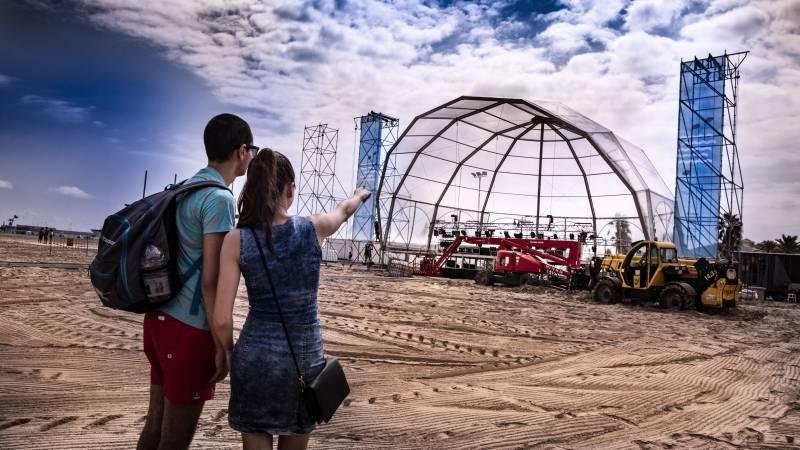 Concerts platja. Música a la mar