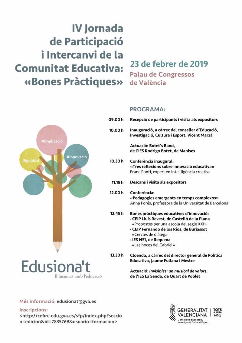 Iniciativas, curso 2018-2019