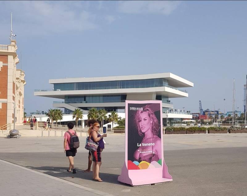 La exposición ?Conquistando libertades. Memoria de la diversidad valenciana? de los Gay Games en la Marina de València. EPDA