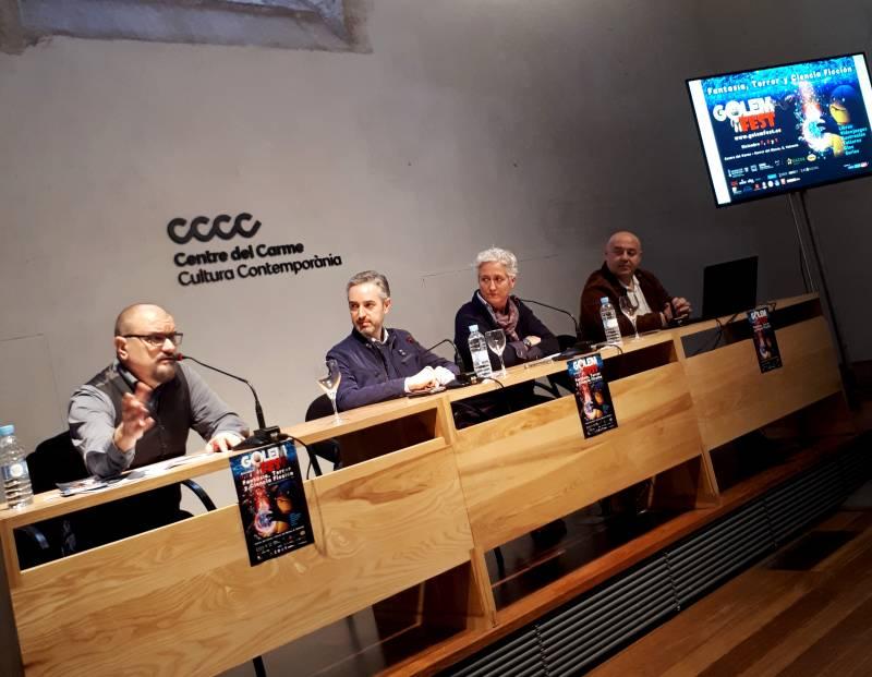 Presentación Golem Fest CCCC