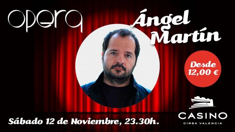 Ángel Martín en Valencia