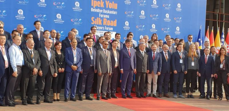 Foro de Alcaldes de la Ruta de la Seda