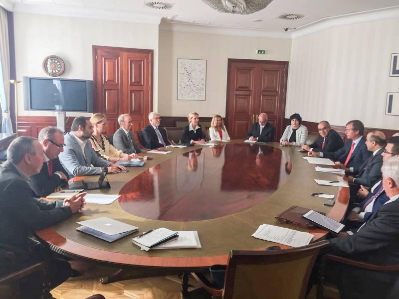 Reunión en el Congreso