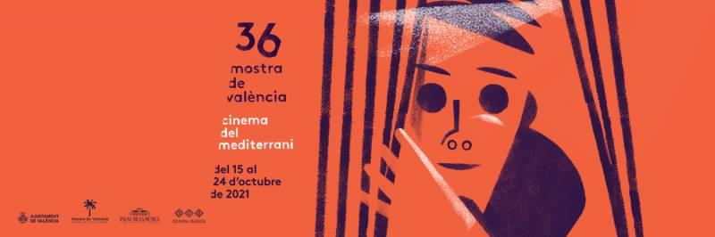 Rafael Maluenda en su despacho de Valencia presentando el festival de Cinema Jove. // B.Sambeat