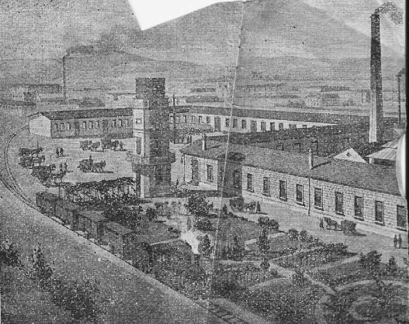 La fábrica de tintes de César Giorgeta