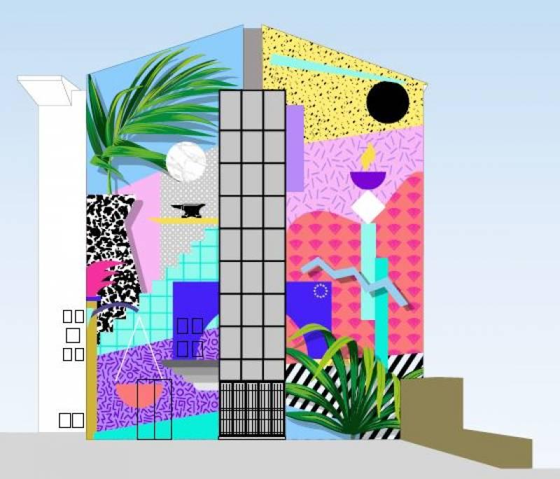 Art urbá en València. EPDA