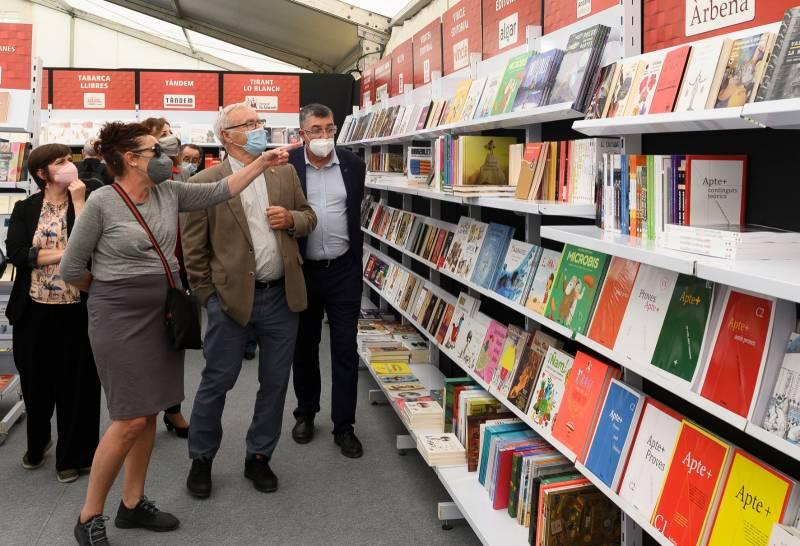 Inauguració de la Fira del Llibre.