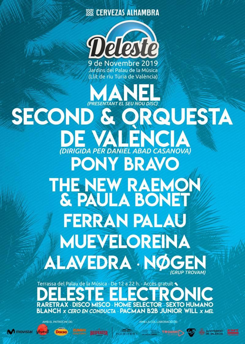 Second y La Orquesta de València juntos en un concierto único enmarcado en el Deleste Festival