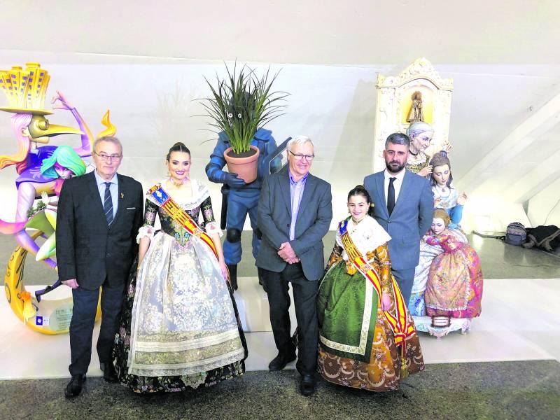 Inauguración de la Exposición del Ninot de las Fallas de València 2020. SENTO BURGUETE