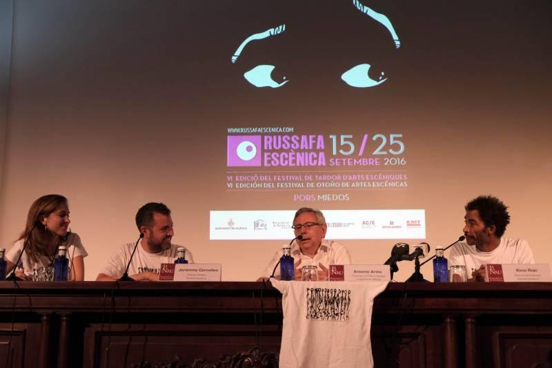 Rueda de prensa de Russafa Escènica