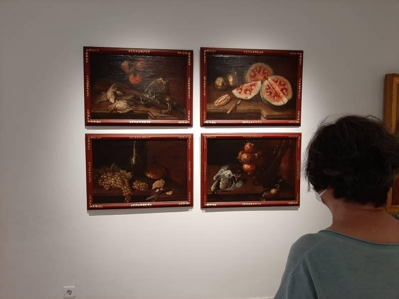 Un dels bodegons de Félix Lorente al Museu de Belles Arts de València. Imagen: GVA