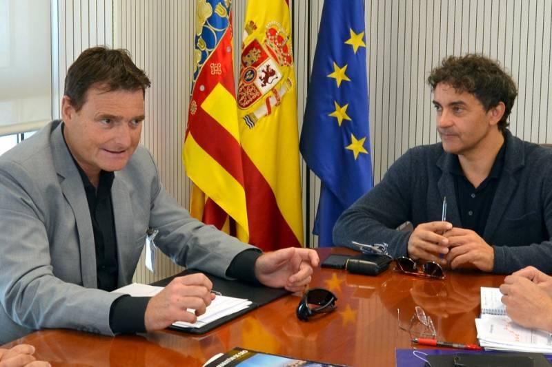 Reunión aeropuerto Castellón