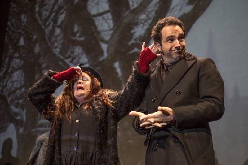 El hombre invisible, Teatre Escalante