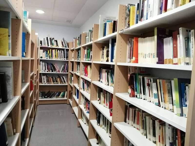 Imagen de archivo de una biblioteca/ EPDA