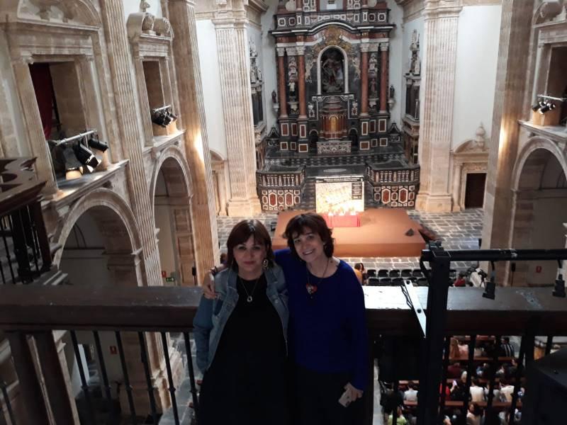 Amoraga y Rosa Montero