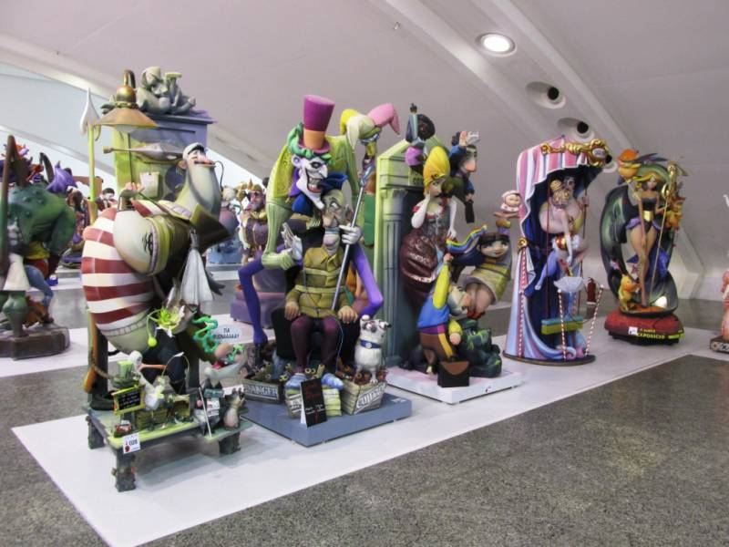 Exposición del Ninot. EPDA