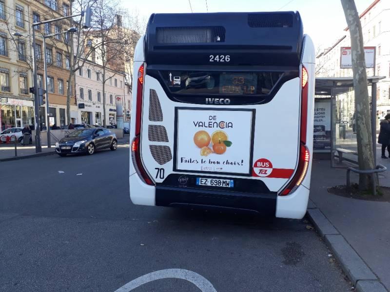 Una flota de 1.043 autobuses promocionará el consumo de cítricos de la Comunitat en Lyon, Nantes, Marsella, Niza, Nimes y Toulouse